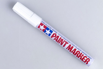 Маркер X-2 белый глянцевый (Paint Marker White)