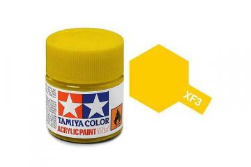 Краска XF-03 желтая акрил матовая (Flat Yellow) 10 мл.