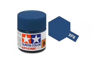 Краска XF-08 синяя акрил матовая (Flat Blue) 10 мл.