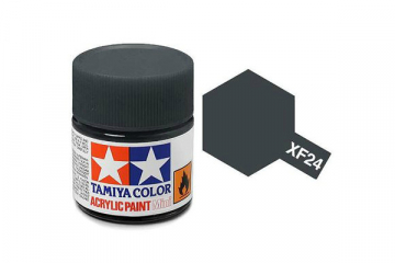Краска XF-24 темно-серая акрил матовая (Flat Dark Grey) 10 мл.