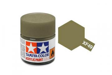 Краска XF-49 хаки акрил матовая (Flat Khaki) 10 мл.