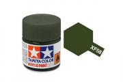 Краска XF-58 оливково-зеленая акрил матовая (Flat Olive Green) 10 мл.