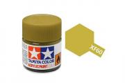 Краска XF-60 темно-желтая акрил матовая (Flat Dark Yellow) 10 мл.