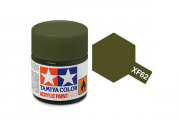 Краска XF-62 оливковая серая акрил матовая (Flat Olive Drab) 10 мл.