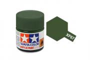 Краска XF-67 зеленая НАТО акрил матовая (Flat NATO Green) 10 мл.