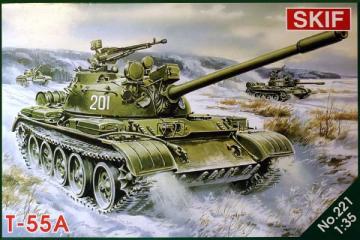 Танк Т-55А (1/35)