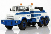 КрАЗ-6322 SIAS БРО-200, белый/синий (1/43)