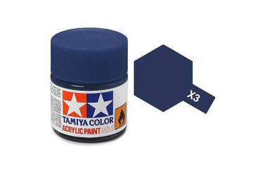 Краска X-03 королевская синяя акрил глянцевая (Royal Blue) 10 мл.
