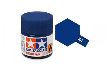 Краска X-04 синяя акрил глянцевая (Blue) 10 мл.