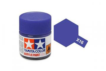 Краска X-16 фиолетовая акрил глянцевая (Purple) 10 мл.