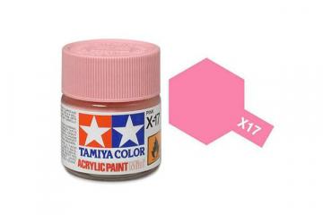 Краска X-17 розовая акрил глянцевая (Pink) 10 мл.