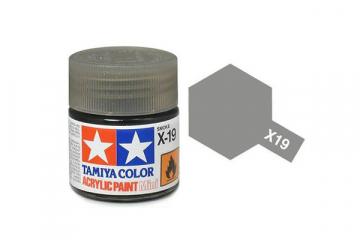 Краска X-19 дымчатая акрил глянцевая (Smoke) 10 мл.