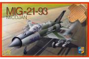 Самолет МИГ-21-93 (1/72)