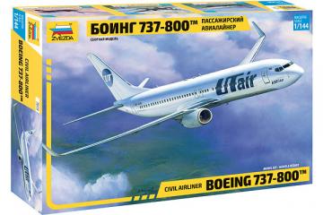Самолет Боинг 737-800 (1/144)