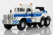 КрАЗ-255Б SIAS БРО-200, белый/синий (1/43)