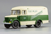 Автобус ПАЗ-661 'Мосгортранс' 1956, бежевый/зеленый (1/43)