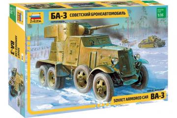 Бронеавтомобиль БА-3 обр. 1934 (1/35)