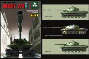 Танк Объект 279 советский тяжелый (3 в 1) (1/35)