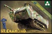 Танк St. Chamond французский позднего типа WWI (1/35)