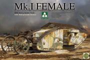 Танк Mk.I Female английский тяжелый WWI (1/35)