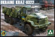 Автомобиль КрАЗ-6322 бортовой поздний (1/35)