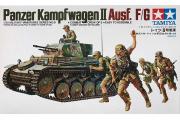 Танк Pzkpw II Ausf/G немецкий с пятью фигурами (1/35)