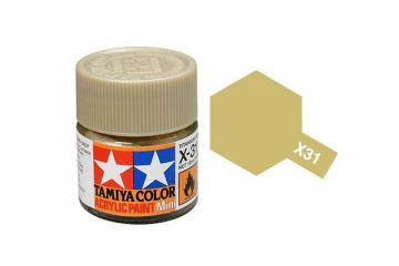 Краска X-31 титановая золотистая акрил глянцевая (Titanium Gold) 10 мл.