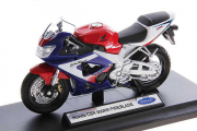 Мотоцикл Honda CBR 900RR Fireblade, синий/красный/белый (1/18)