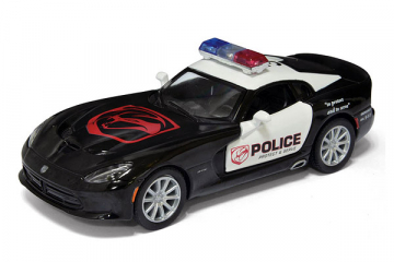 Dodge SRT Viper GTS 2013 Police, черный/белый (1/36)