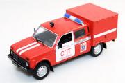 ВИС-294611 'Пожарный', красный (1/43)