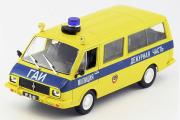 РАФ-22033 ГАИ СССР, желтый/синий (1/43)