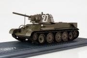 Танк Т-34-76 обр. 1942 г., хаки (1/43)