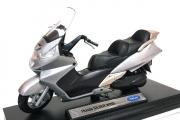 Мотоцикл Honda Silver Wing, серебристый (1/18)