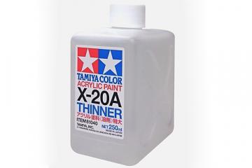 Растворитель 250 мл для акриловых красок X-20A