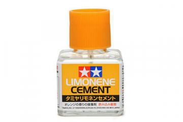 Клей 40 мл Лимон с кисточкой и закруч. крышкой (Limonene Cement)
