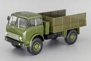 МАЗ-505 бортовой 4х4 1963, хаки (1/43)