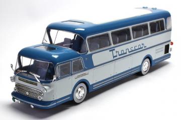 Автобус Isobloc 656 DH France 1956, синий (1/43)