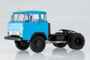 КАЗ-608 седельный тягач, синий (1/43)