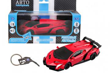 Lamborghini Veneno, красный (1/32)