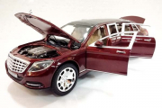 Mercedes Maybach S600 Limousin (свет, звук), коричневый (1/28)