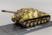 Танк ИСУ-152, хаки камуфляж (1/43)