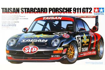 Автомобиль Taisan Porsche 911 GT2 (1/24)