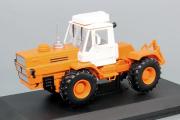 Трактор Т-150К (первого поколения), оранжевый/белый (1/43)