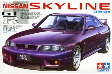Автомобиль Nissan Skyline GT-R V SPEC (1/24)