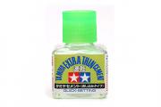 Клей 40 мл Extra Thin быстросхватывающий жидкий с тонкой кисточкой (Quck Setting)