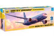 Самолет Боинг 787-9 Дримлайнер (1/144)