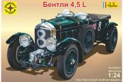 Автомобиль Bentley Blower 4.5L (1/24)