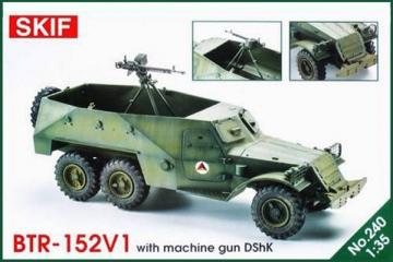 БТР-152В1 с зенитным пулеметом ДШК (1/35)