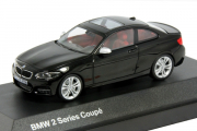 BMW 2 Series Coupe F22, черный (1/43)