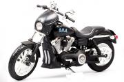 Мотоцикл Harley-Davidson FXDBI Dyna Street Bob 2006 (т/с Сыны Анархии), черный (1/12)
